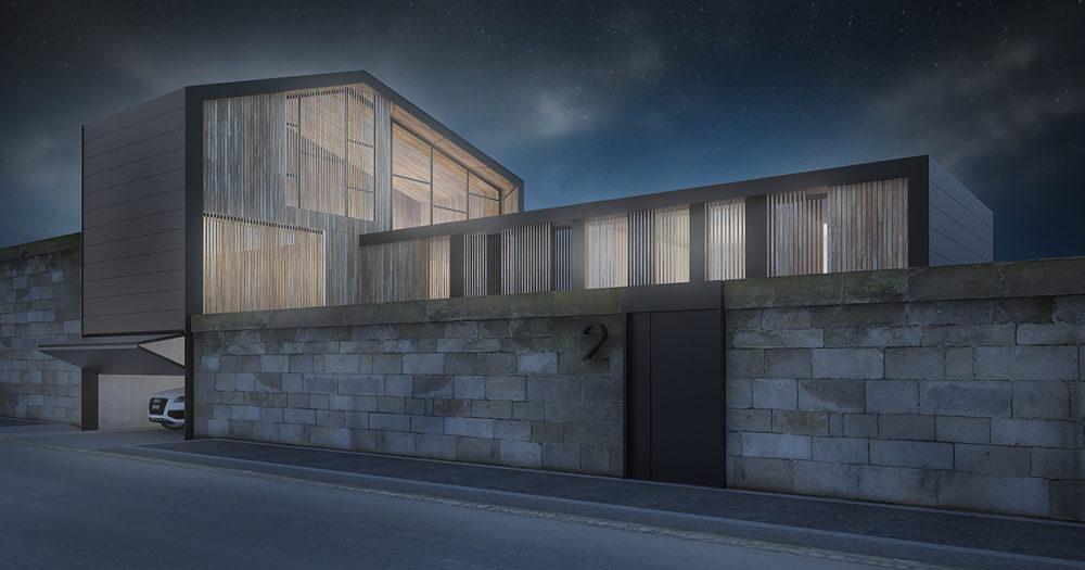 Casas unifamiliares de dise o grupo riofrio arquitectura for Genesis arquitectura y diseno ltda