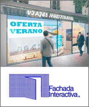 Fachada interactiva - Grupo Riofrío