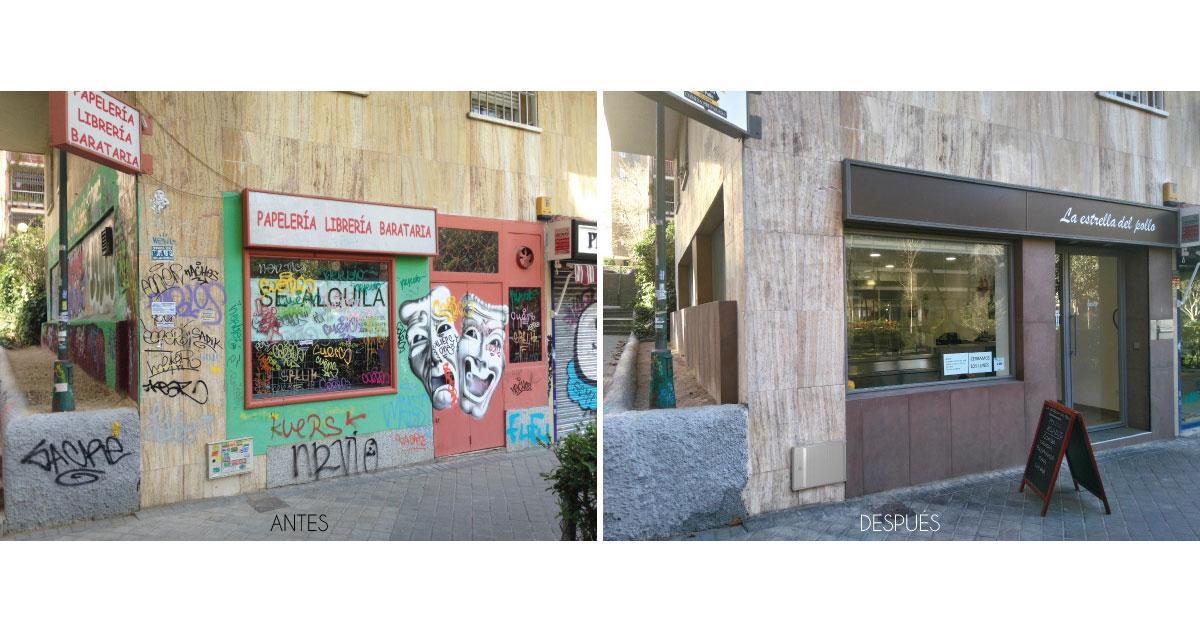 Diseño de restaurantes y locales Grupo Riofrio