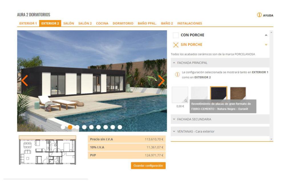 configurador de viviendas a medida