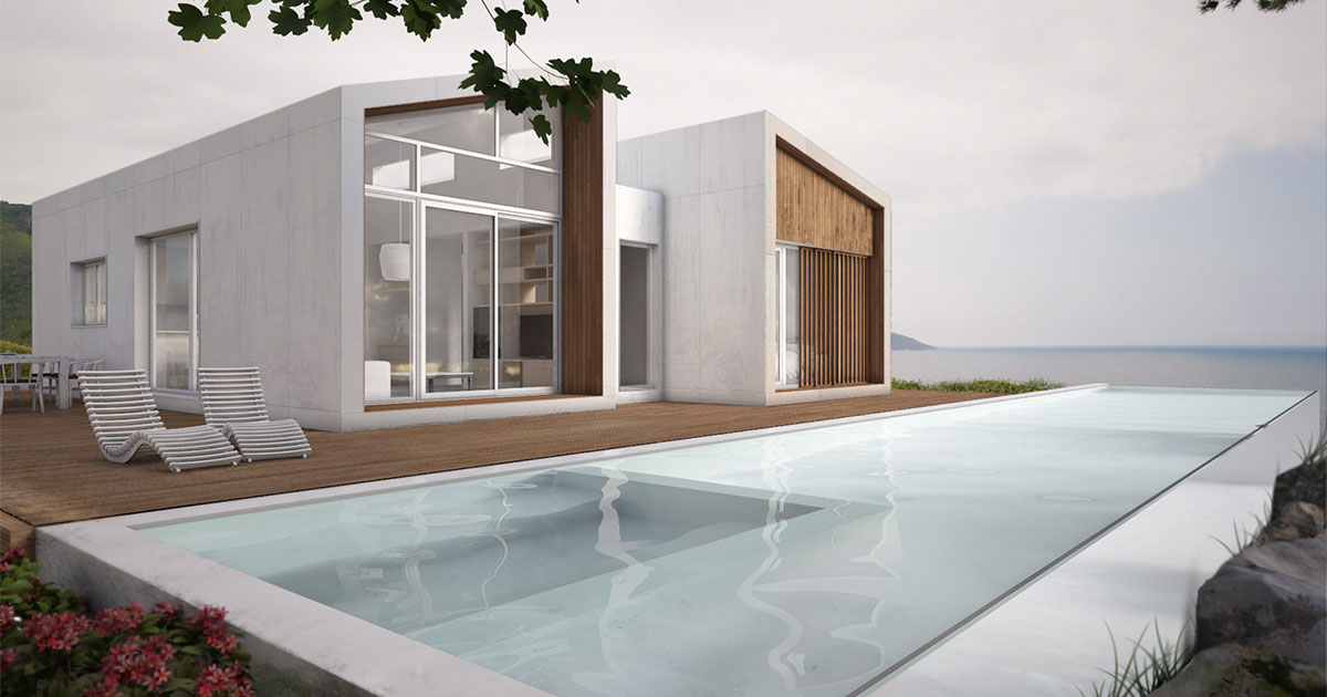Las casas prefabricadas arquitectos madrid grupo riofr o - Casas modulares madrid ...