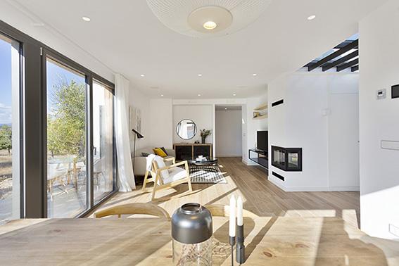 Proyectos de casas luz natural estudio de arquitectura grupo riofr o - Grupo riofrio ...