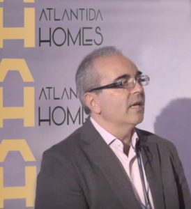 Enrique Nieto-Márquez nuevo Director de Innovación e industrialización de Atlántida HOMES