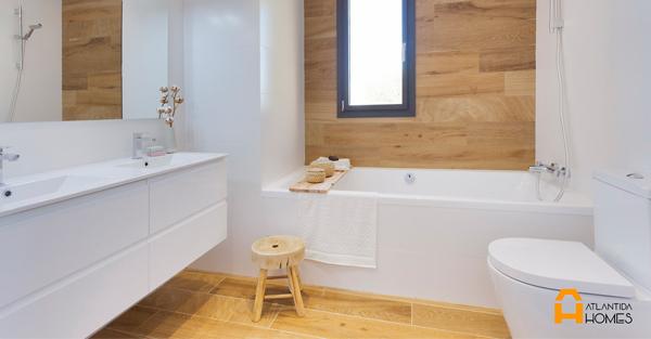 Baño vivienda ATLÁNTIDA HOMES