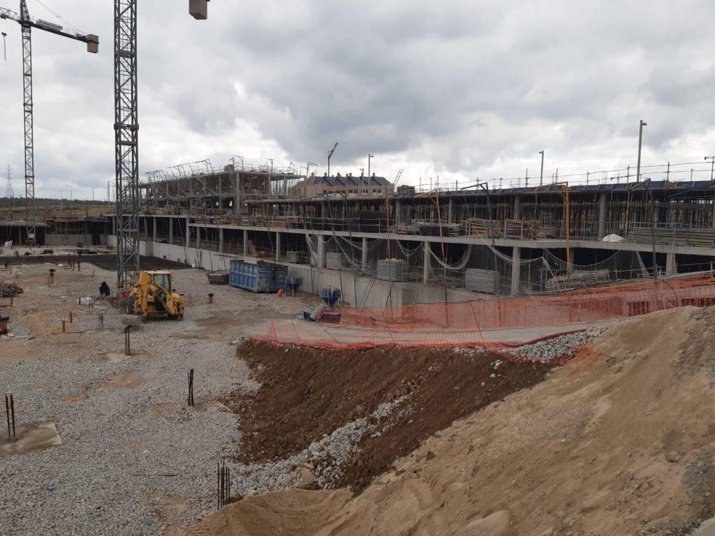 Situación obras promoción  Suertes de la Villa Marzo 2020 derecha