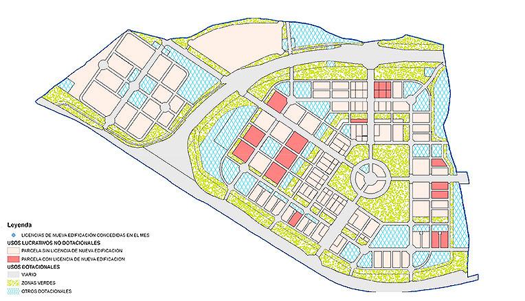 Plan urbanístico El cañaveral